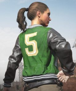 Playerunknown's Battlegrounds Letterman Bomber Jacket
