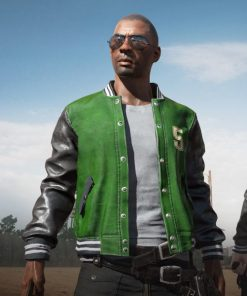 Playerunknown's Battlegrounds Letterman Jacket