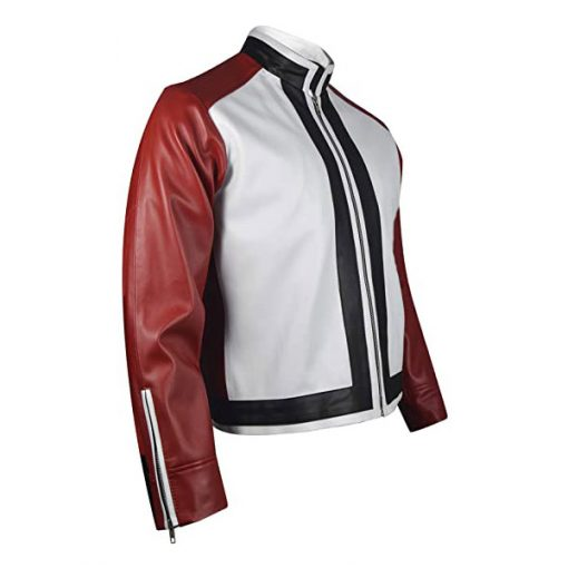 Rock Howard King of Fighters Red Leather Jacket