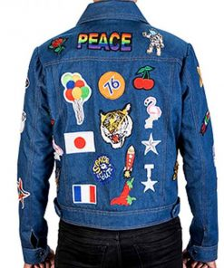 Rocketman Elton John Blue Denim Jacket