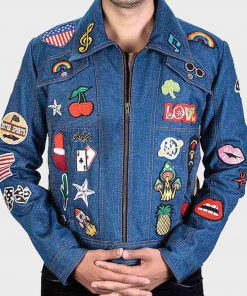 Rocketman Elton John Denim Jacket