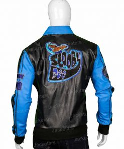 Scooby Doo Blue Leather Jacket