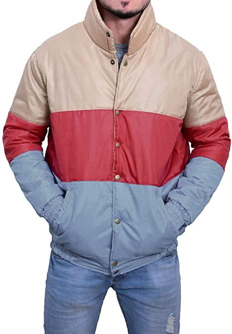 Sex Education Otis Milburn Multi Color Satin Jacket