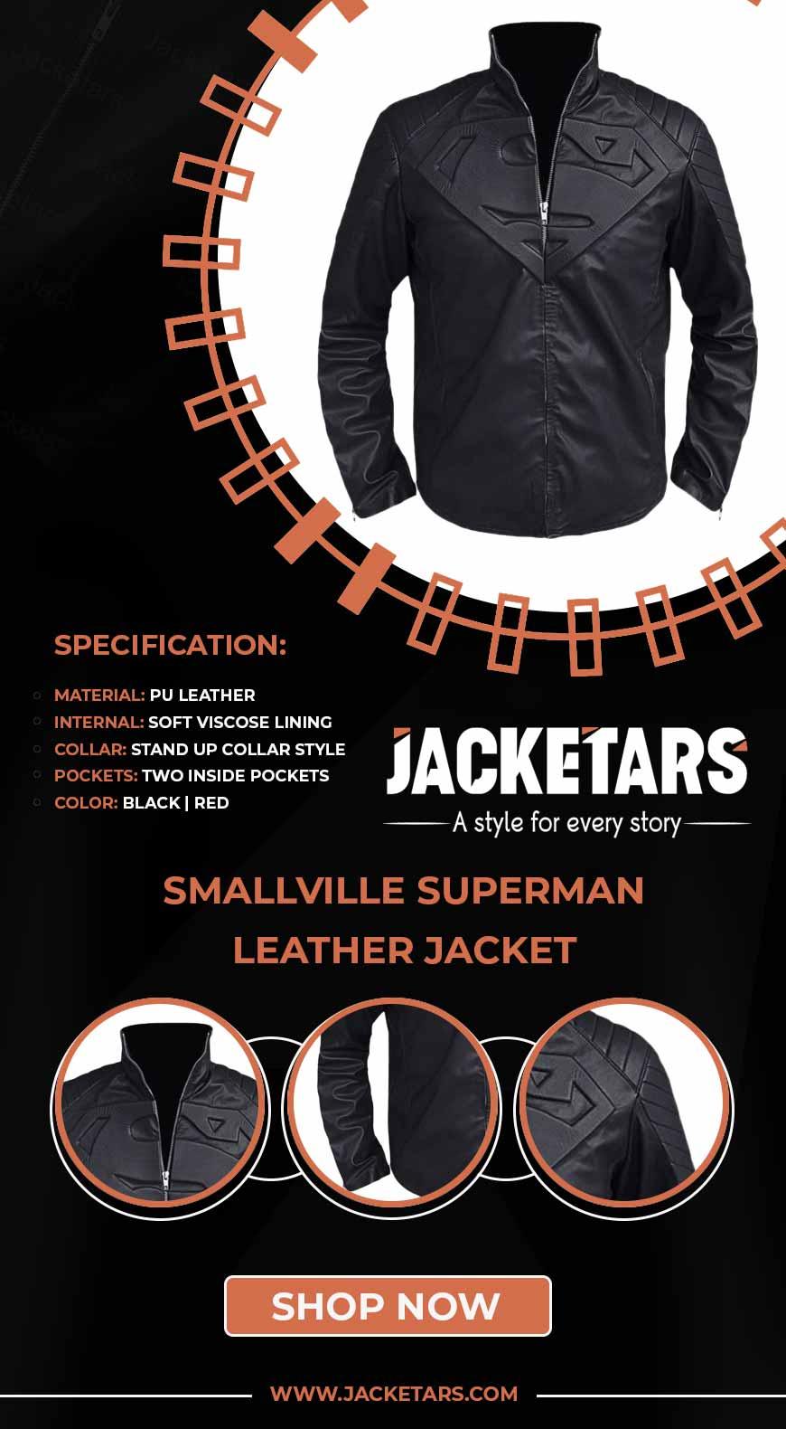 Smallville Superman Leather jacket info