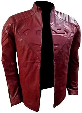 Smallville Superman Red Leather Jacket