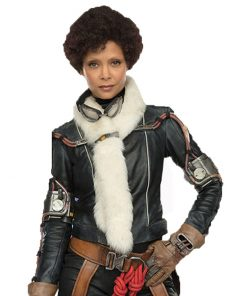 Solo A Star Wars Story Val Black Leather Jacket