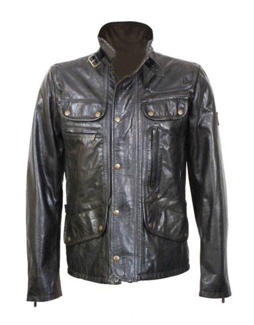 Supernatural Dean Winchester Black Leather Jacket