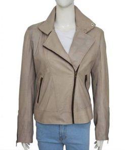 TV-Series Lucifer Chloe Decker Gray Leather Jacket