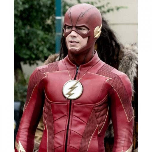 The Flash Season 4 Barry Allen Leather Jacket