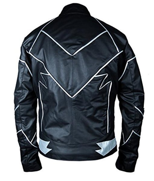 The Flash Zoom Barry Allen Black Leather Jacket