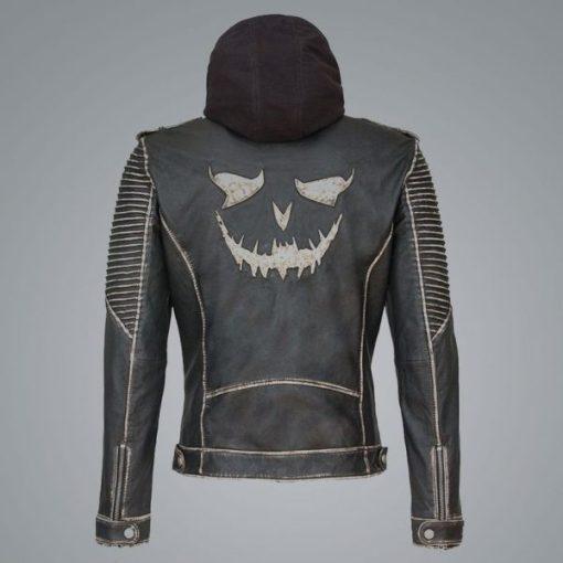 Suicide Squad The Killing Joker Distressed Jacket