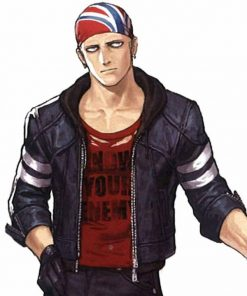 The King Of Fighters Billy Kane Leather Jacket