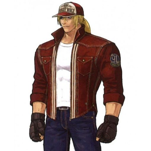 The King of Fighters Terry Bogard Leather Jacket