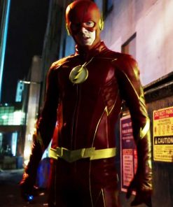 The Once And Future Flash Barry Allen Leather Jacket