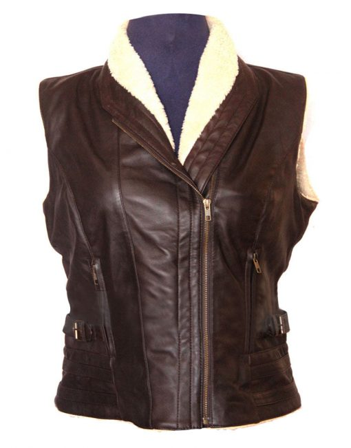 The Walking Dead Andrea Harrison Leather Vest