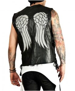 The Walking Dead Daryl Dixon Leather Wings Vest
