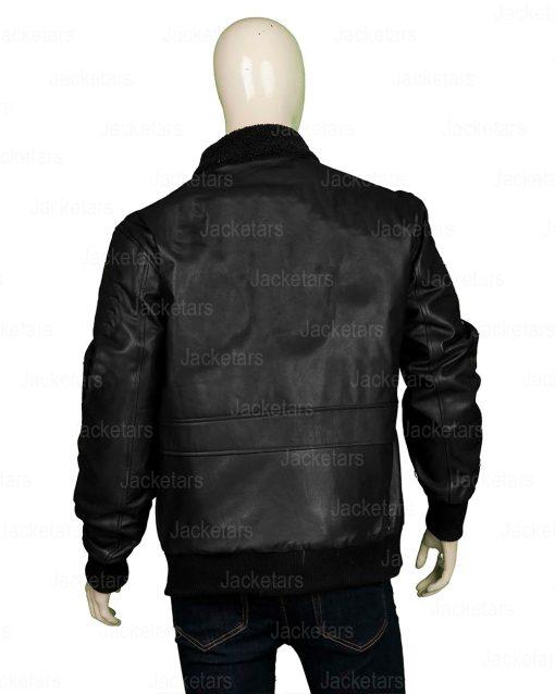 Tom Cruise Top Gun Black Jacket