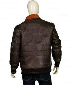 Tom Cruise Top Gun Brown Jacket
