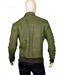Tom Cruise Top Gun Green Jacket