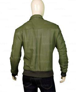 Tom Cruise Top Gun Green Jacket