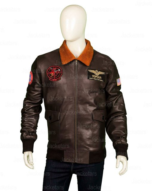 Top Gun Brown Jacket