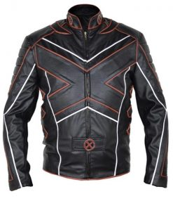 X-Men Logan Motorcycle Leather Jacket