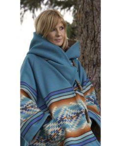 Beth Dutton Yellowstone Blue Coat