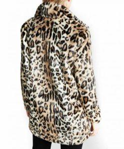 Beth Dutton Yellowstone Cheetah Print Fur Coat