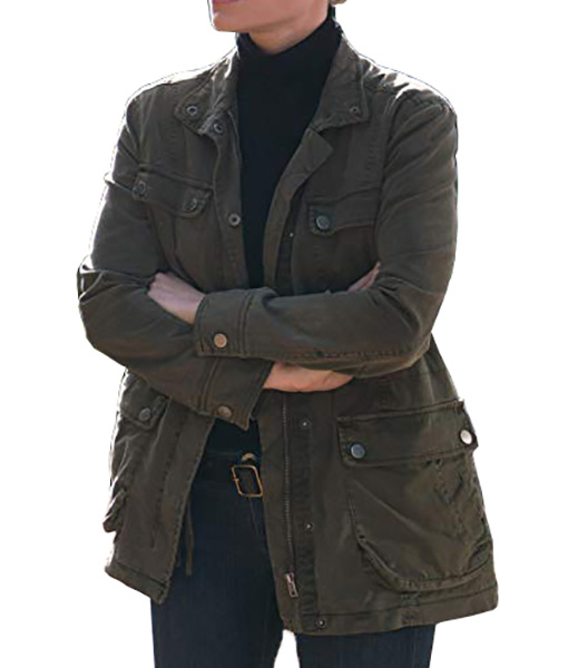 Chloe Decker Lucifer Military Jacket