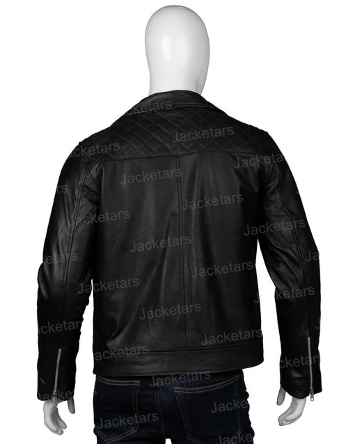 Dean Winchester Supernatural Black Leather Jacket