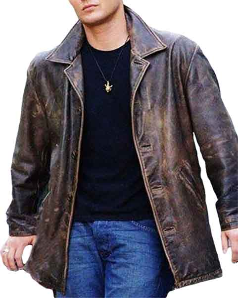 Supernatural Dean Winchester Brown Leather Coat