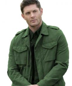 Dean Winchester Supernatural Green Jacket