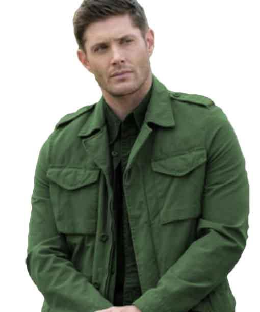 Dean Winchester Supernatural Green Jacket