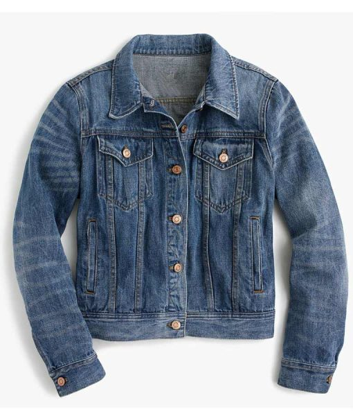 Hannah Baker 13 Reasons Why Denim Jacket