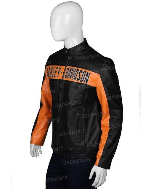 Harley Davidson Black Leather Jacket