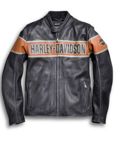 Harley Davidson Victory Lane Leather Jacket