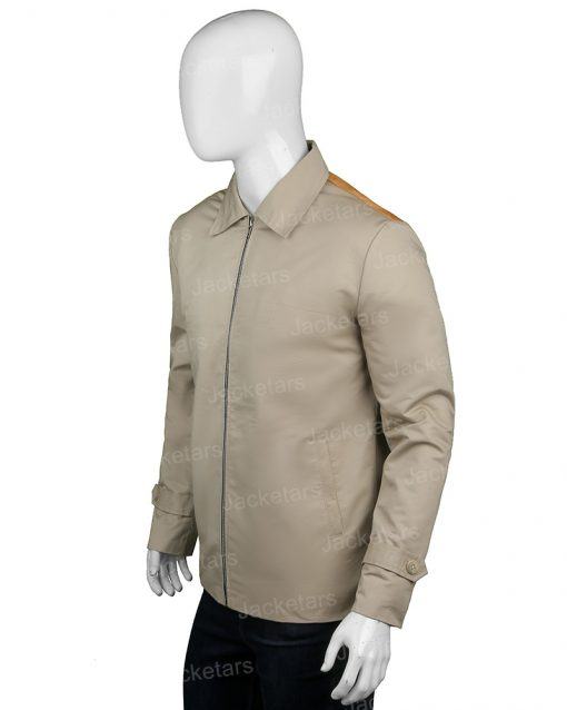 John Dutton Yellowstone Beige Cotton Jacket