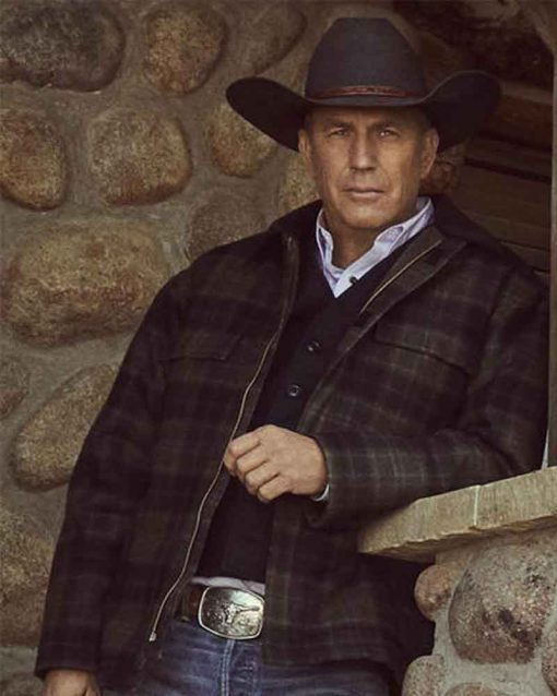 John Dutton Yellowstone Plaid Jacket