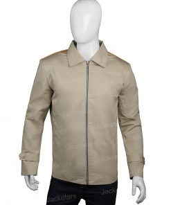 John Dutton Yellowstone Western Beige Jacket