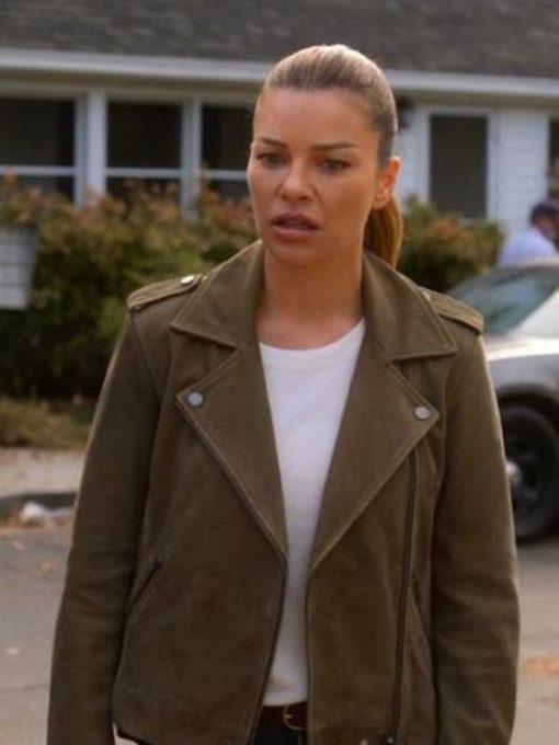 Lucifer Chloe Decker Brown Jacket
