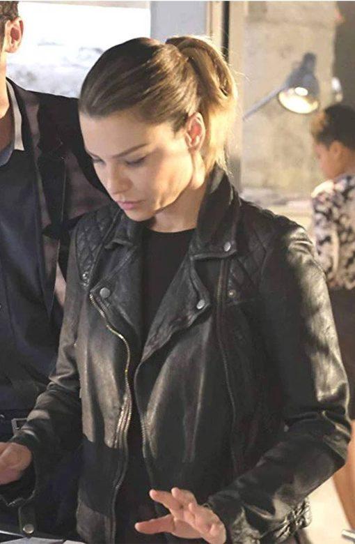 Lucifer S05 Chloe Decker Leather Jacket