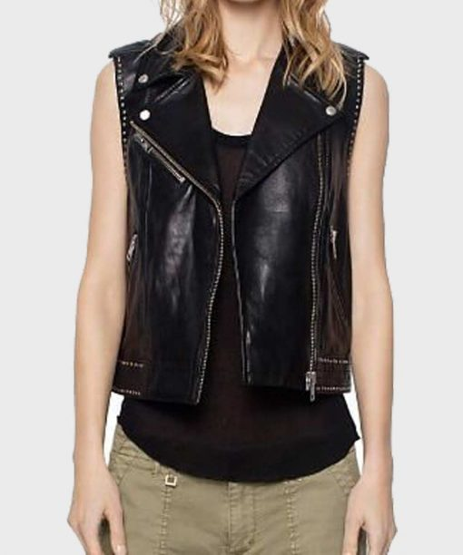 Mazikeen Lucifer Leather Vest