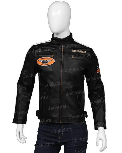 Mens Harley Davidson Command Cafe Racer Jacket