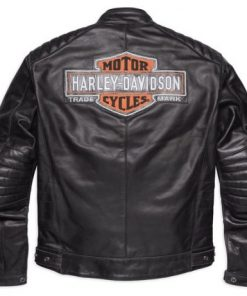 Mens Harley Davidson Legend Leather Jacket