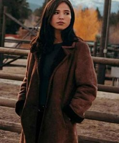 Monica Dutton Yellowstone Coat