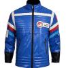 My Chemical Romance Blue Leather Jacket