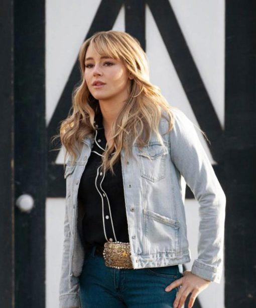 Nicole Duke Yellowstone S03 Jacket