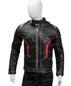 Overwatch Soldier 76 Black Leather Jacket