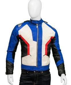 Overwatch Soldier 76 White Jacket