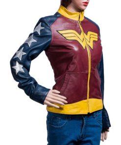 Princess Diana Wonder Woman 1984 Leather Jacket